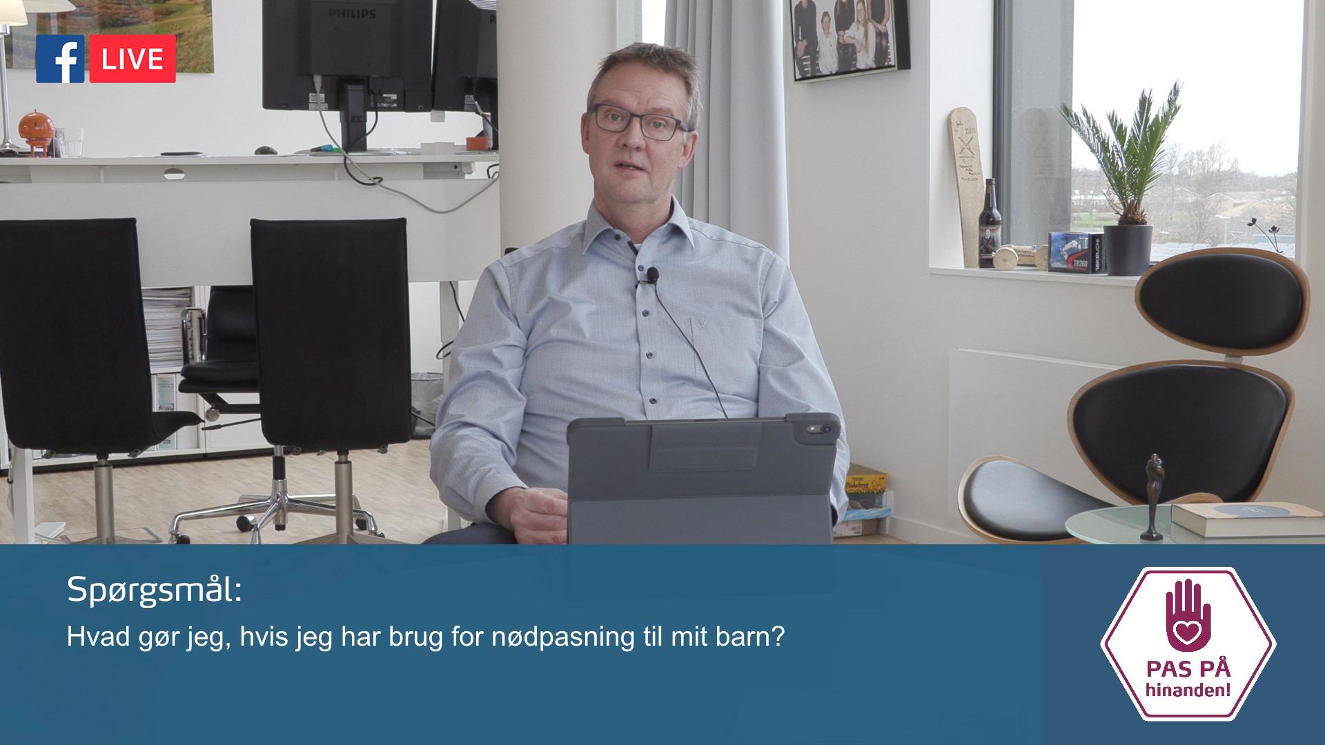 Hos Egedal Kommune svarede borgmesteren på spørgsmål under COVID-19.